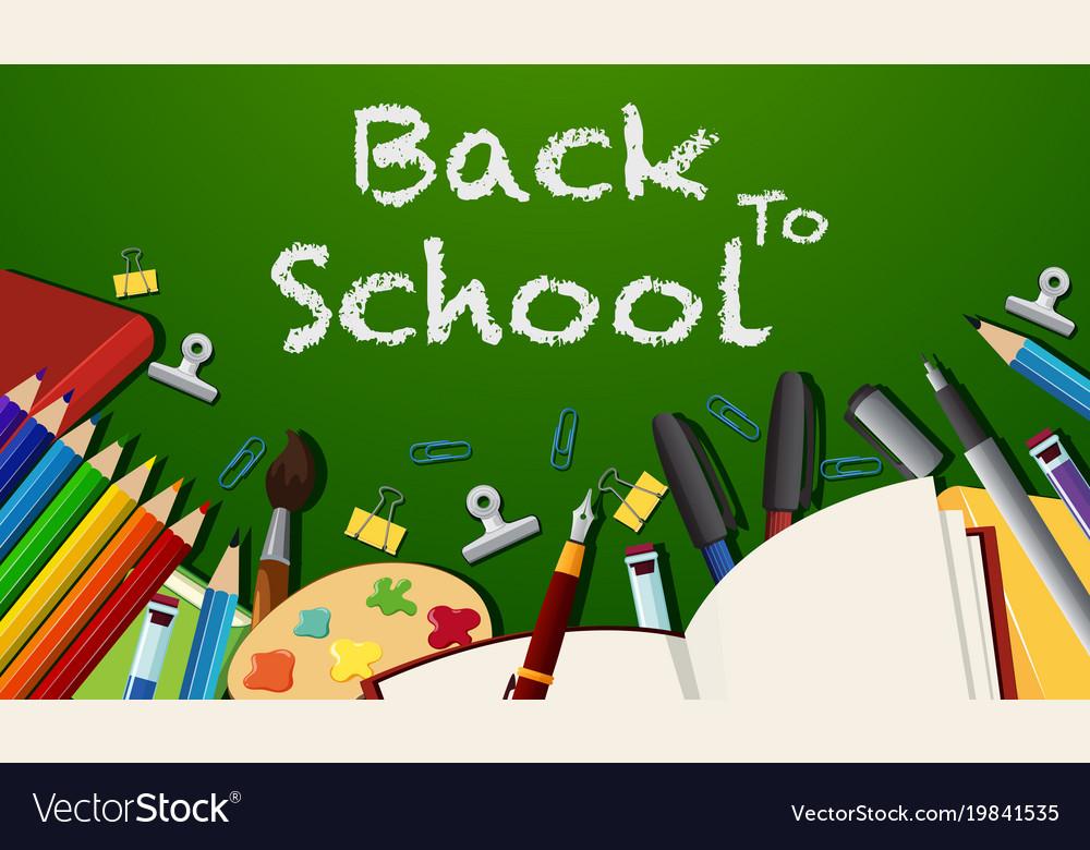 Back School Background