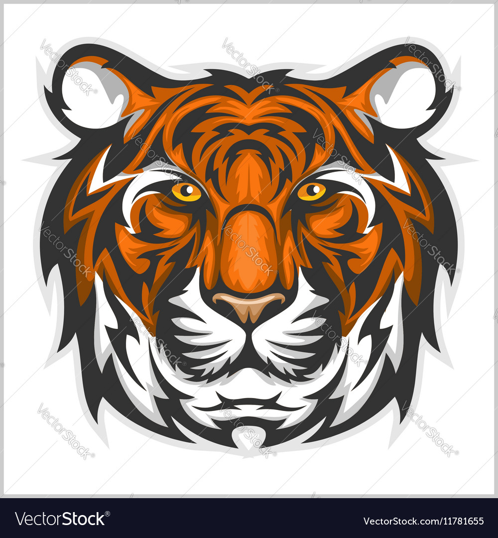 tigers face of a