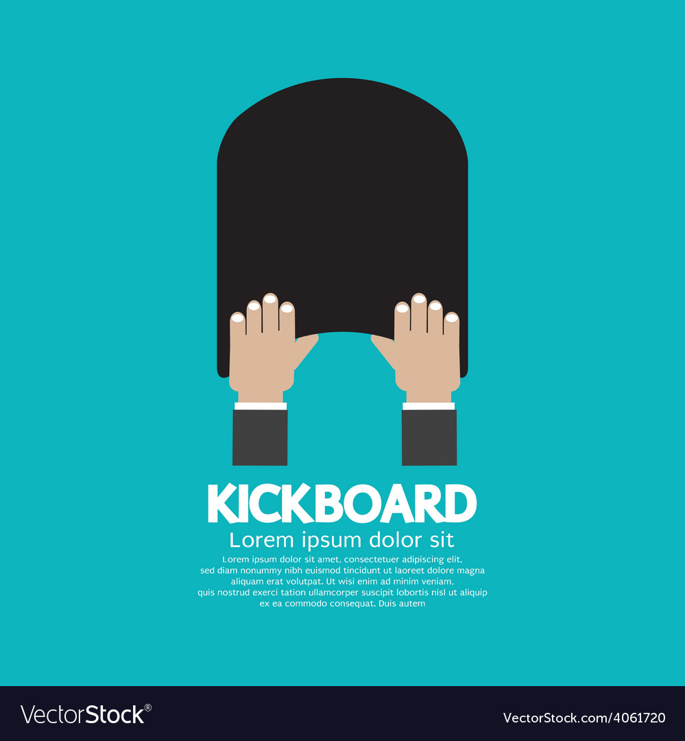 kick board swimming support
