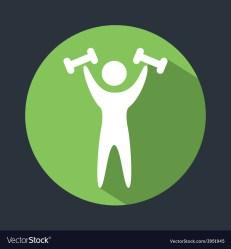 Gym icon Royalty Free Vector Image VectorStock