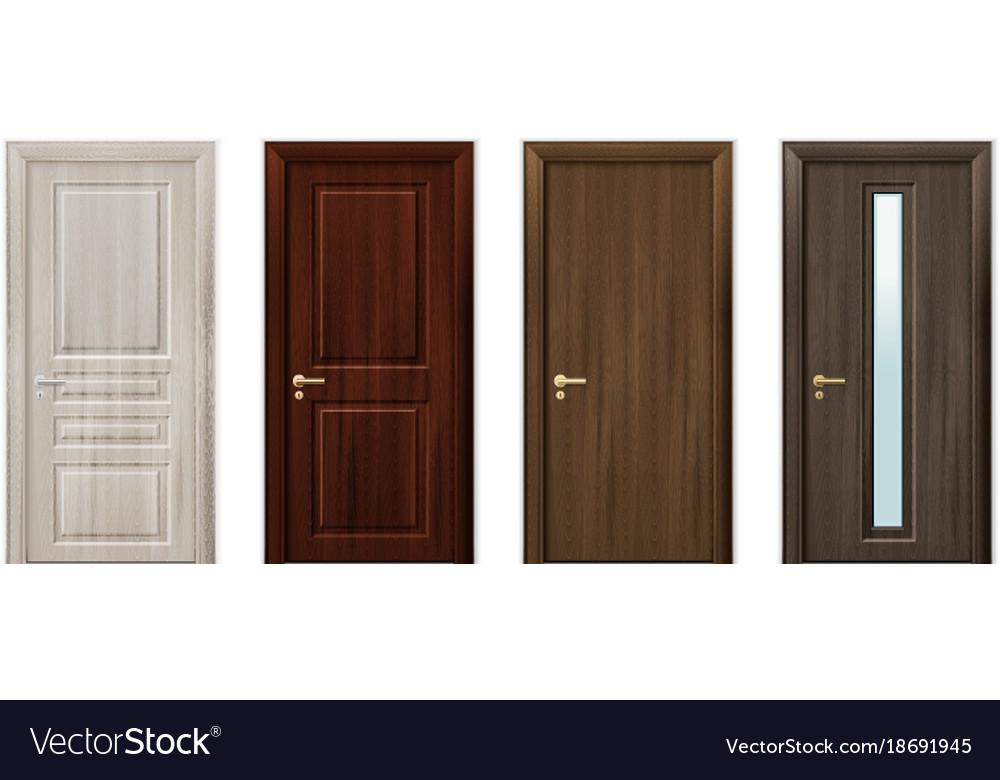 wooden doors design icon