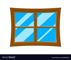 window cartoon vector symbol icon royalty