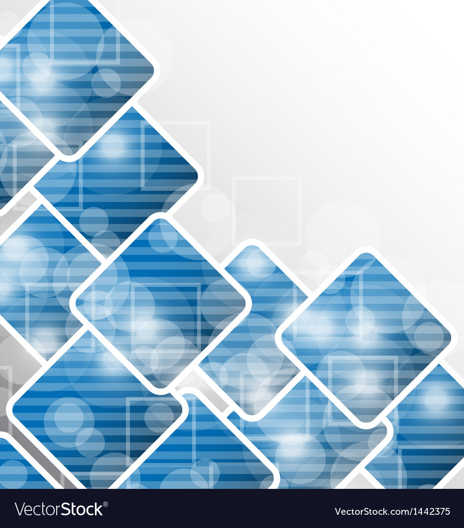 abstract squares backdrop for
