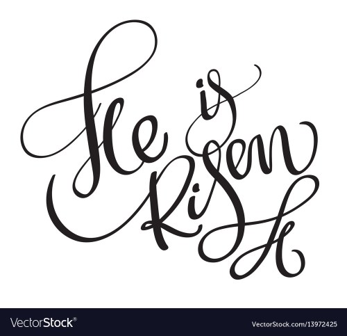 small resolution of he i risen clipart
