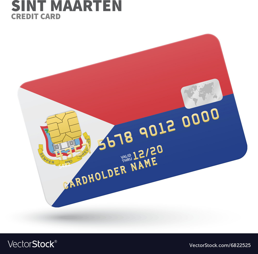 credit card with sint
