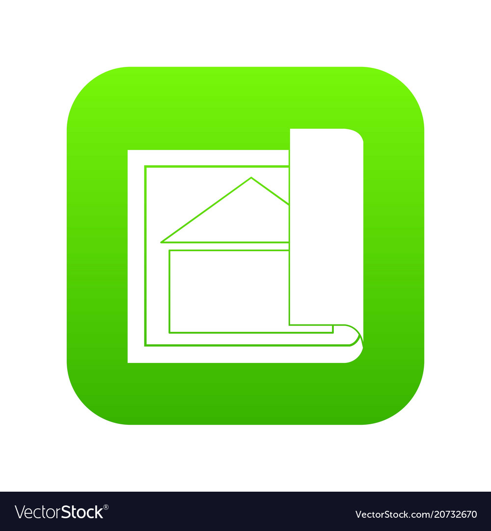 Building Diagram Icon Construction Working Industry Concept