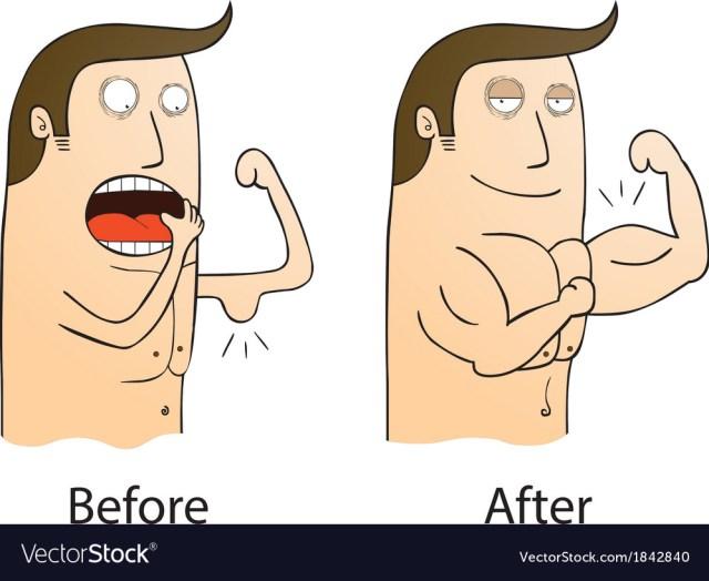 Resultado de imagen para before and after cartoon