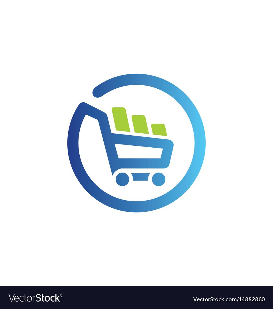 shopping cart basket buy