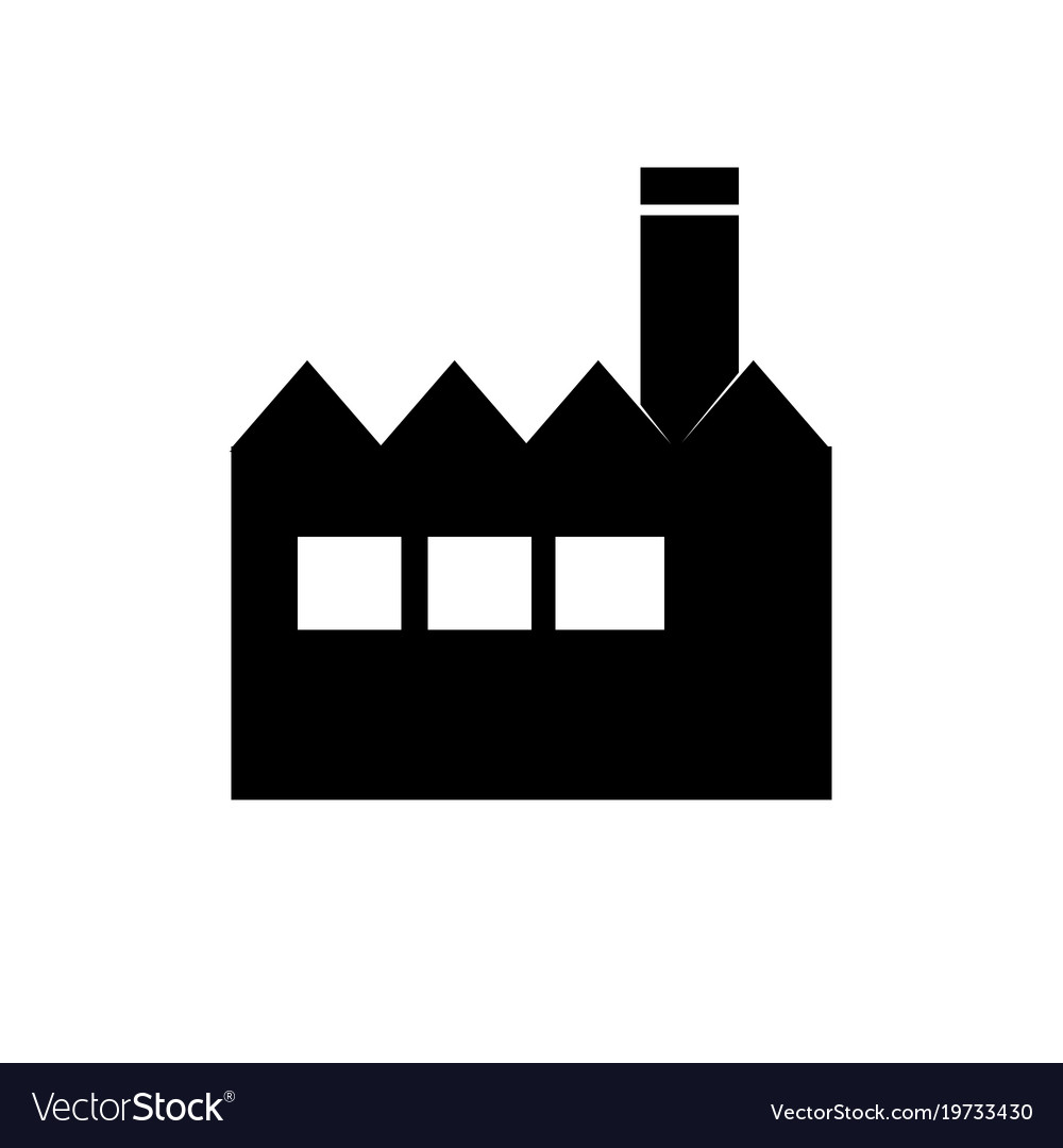 factory icon building sign