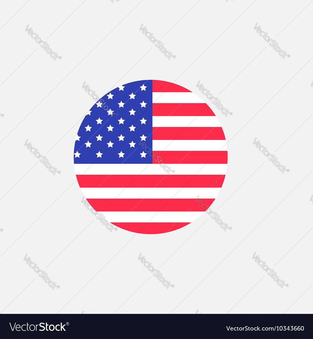 round circle shape american