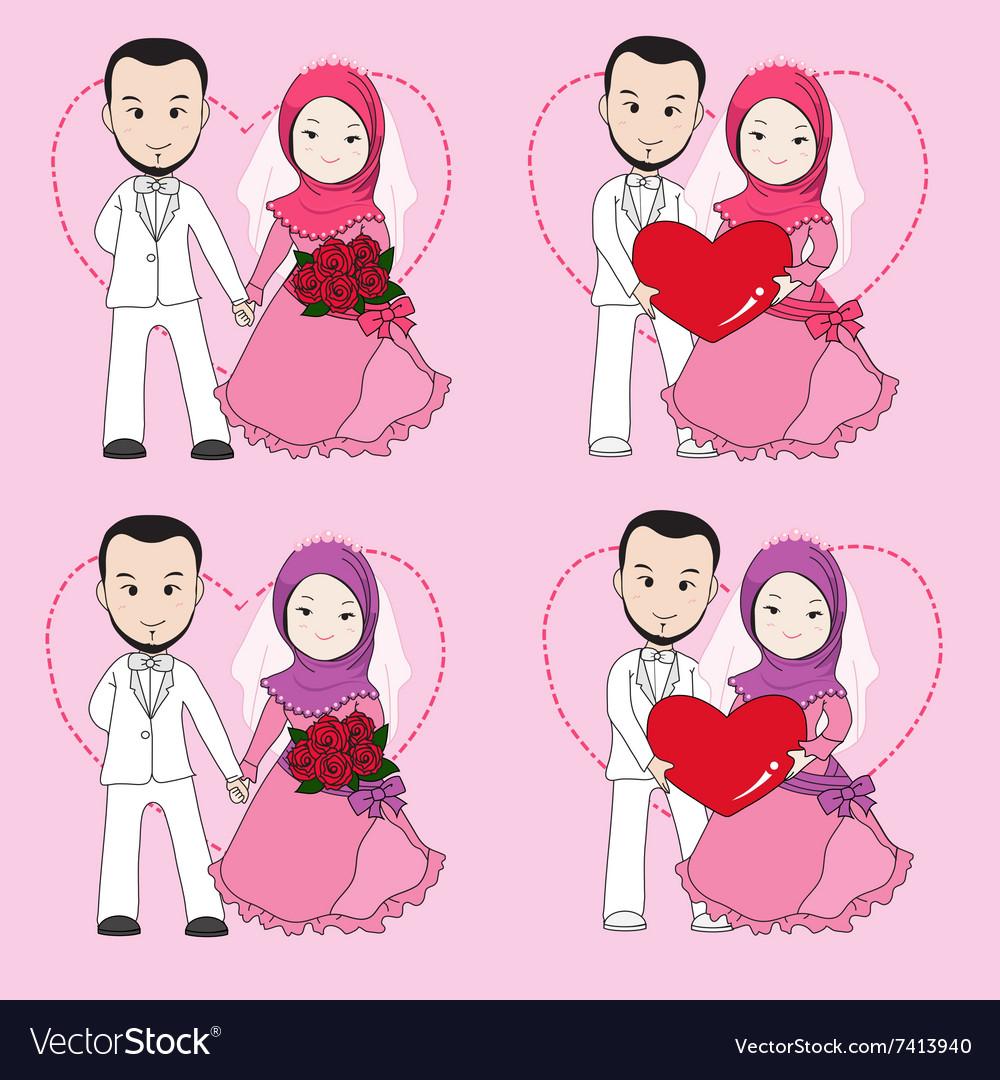 Wallpaper gambar kartun muslimah hipster kumpulan gambar bagus