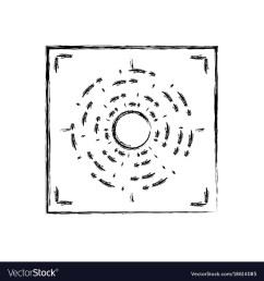 figure gun sight circle with shooting focus vector image pistol sight alignment chart gun sight focus diagram [ 1000 x 1080 Pixel ]