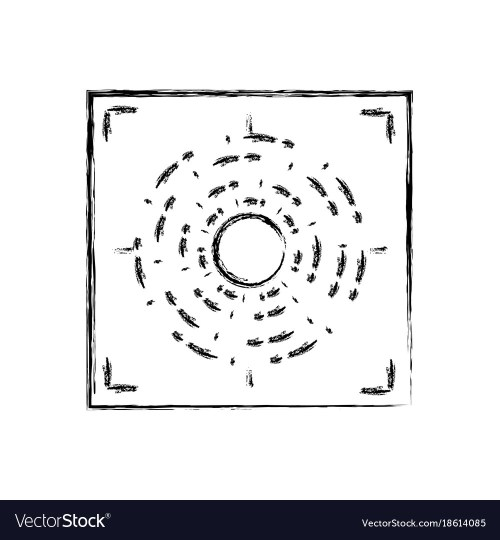 small resolution of figure gun sight circle with shooting focus vector image pistol sight alignment chart gun sight focus diagram