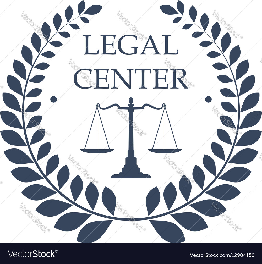 legal center icon law