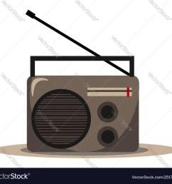 clipart radio [ 1000 x 911 Pixel ]
