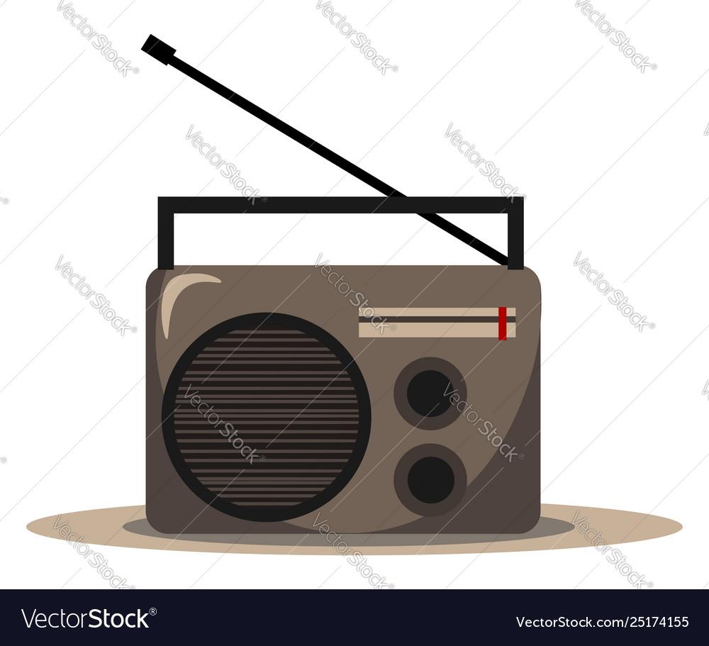 hight resolution of clipart radio