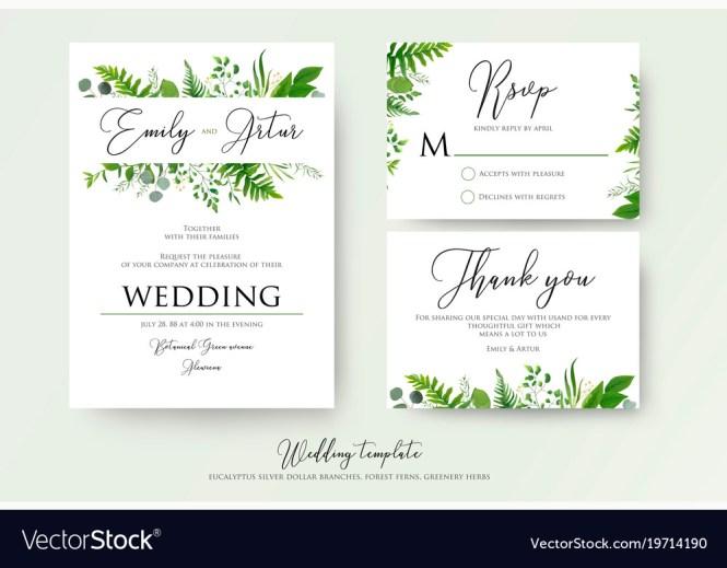 Fl Wedding Invitation Thank You Cards