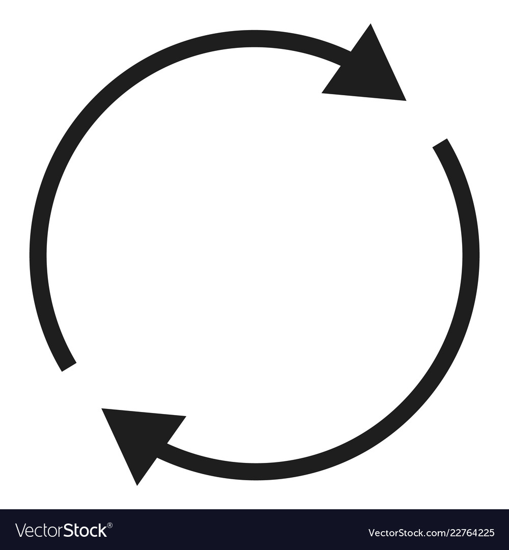 round circle arrow icon