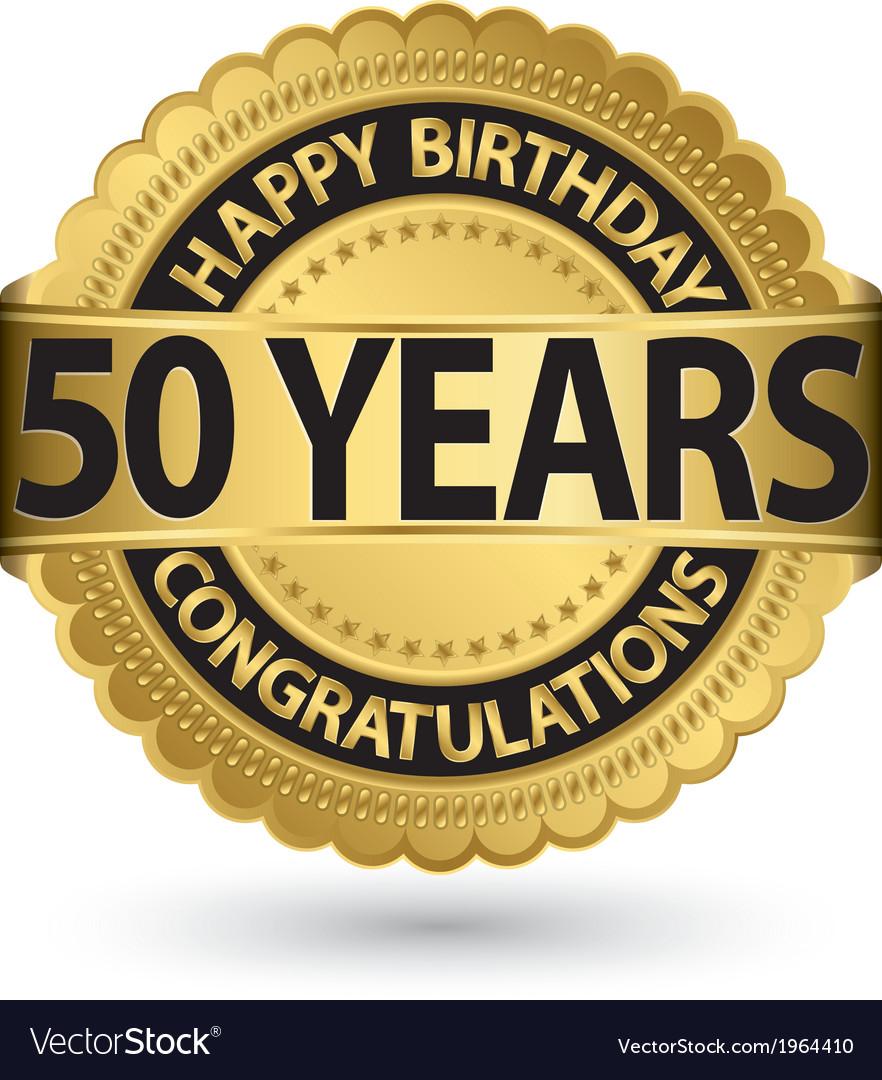 happy birthday 50 years
