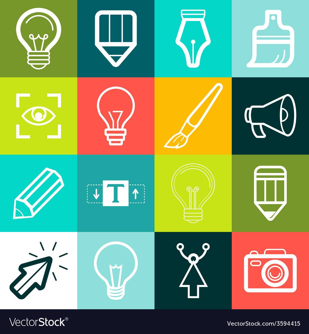 graphic design symbols and