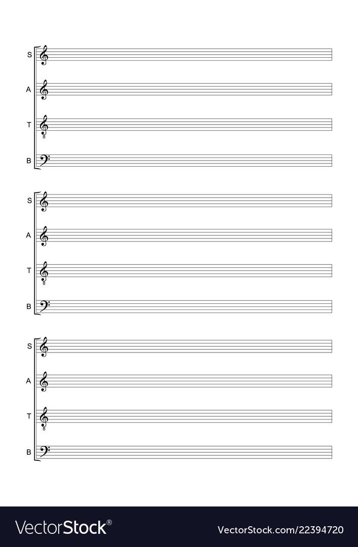 music blank sheet ferdin