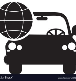 car and earth globe diagram icon royalty free vector image engineering diagram icon car and earth [ 1000 x 913 Pixel ]