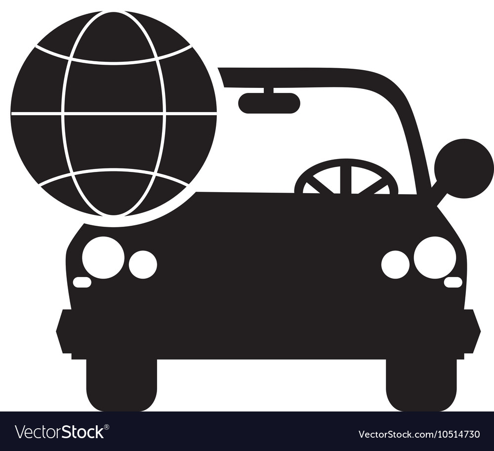 hight resolution of car and earth globe diagram icon royalty free vector image engineering diagram icon car and earth