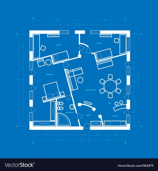 Apartment Royalty Free Vector Image