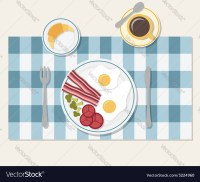 Table Setting Breakfast & Table Setting Set. Weekend ...