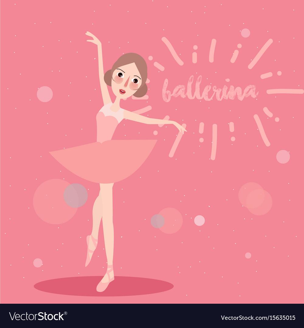 ballerina little girl wearing