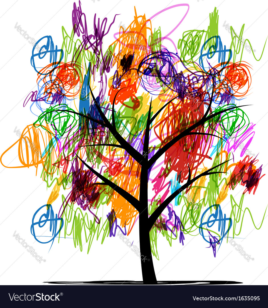 abstract tree with children