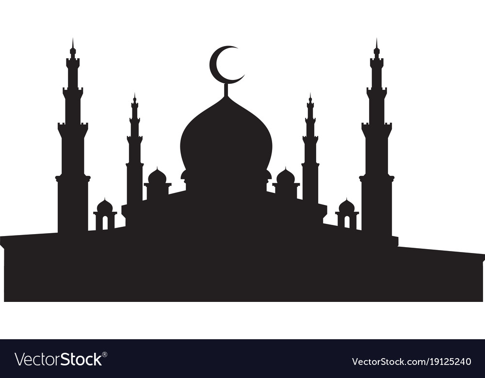 Masjid Vector  Gambar Islami