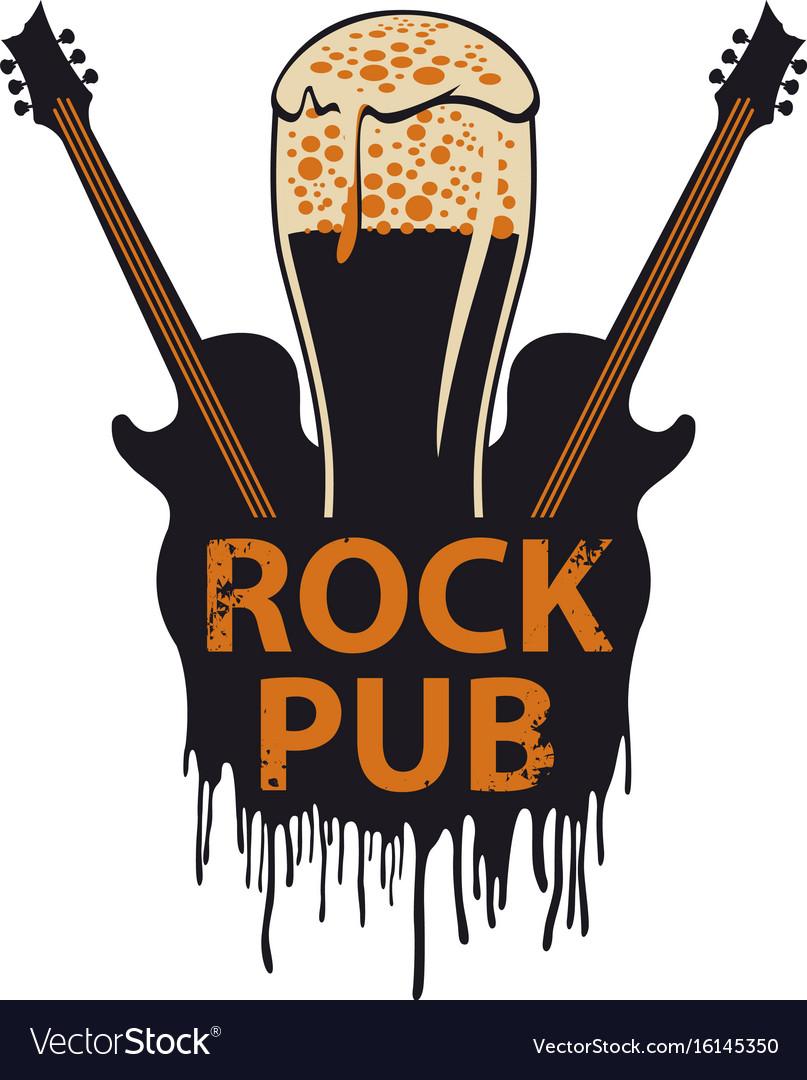 banner for rock pub