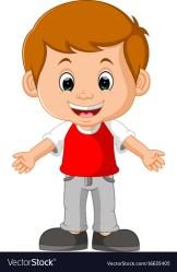boy cartoon cute vector vectorstock royalty vectors