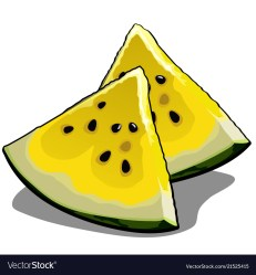 Watermelon Slice Clipart Vector Images 78