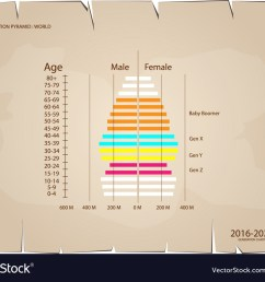 2016 2020 population pyramids graphs with 4 genera vector image [ 1000 x 800 Pixel ]