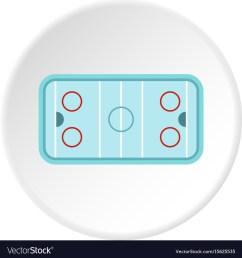 ice hockey rink icon circle vector image [ 1000 x 1080 Pixel ]