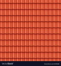 Roof Tile Seamless Pattern Royalty Free Vector Image