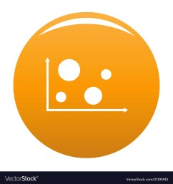 finance diagram icon orange vector image [ 1000 x 1080 Pixel ]