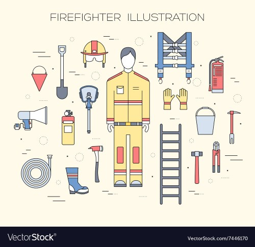 small resolution of firefighter gear diagram