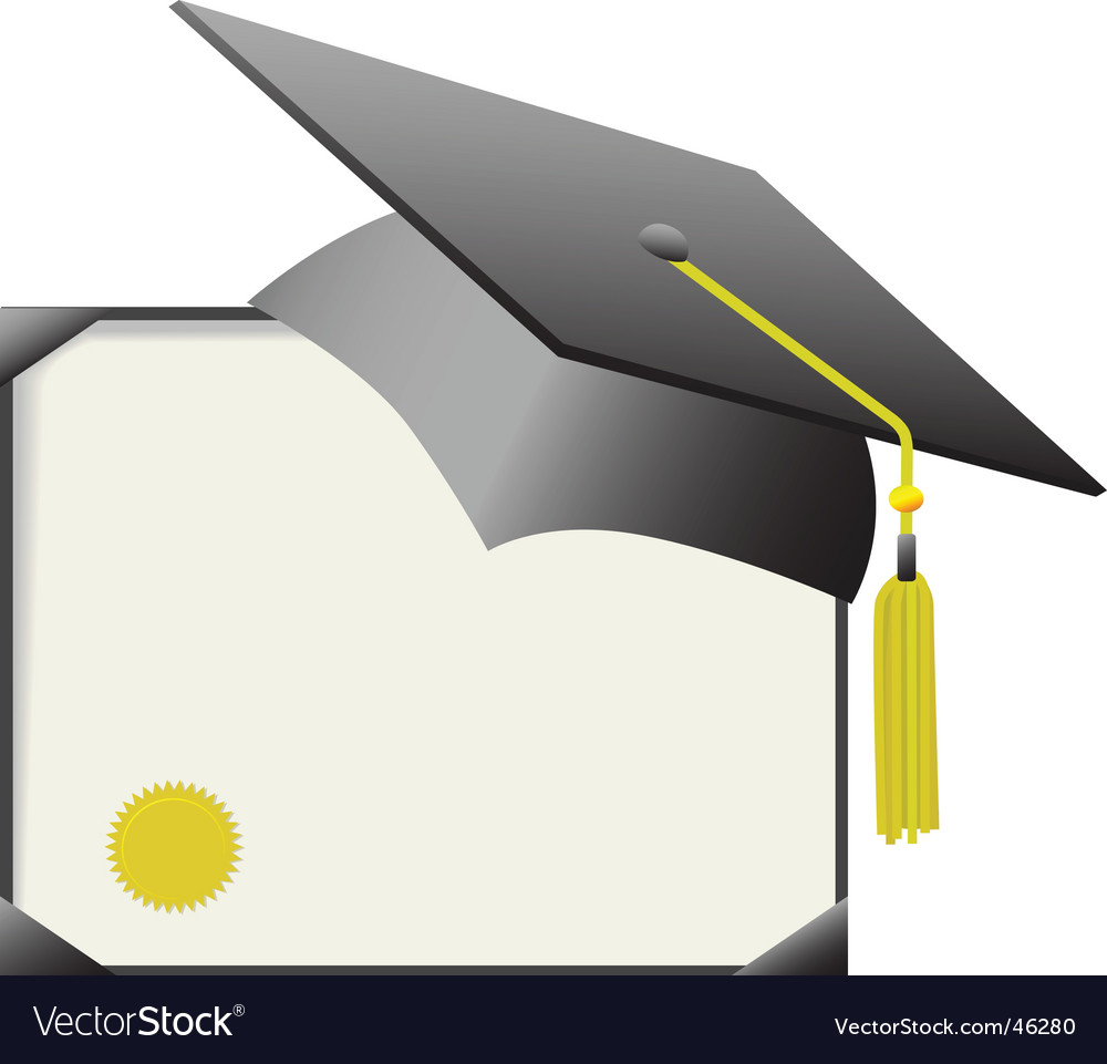 mortarboard graduation cap and
