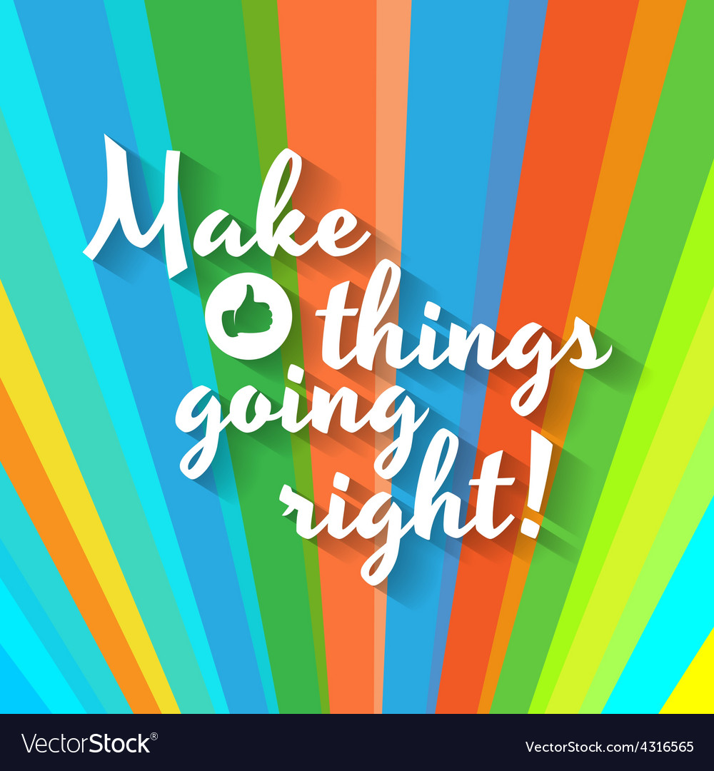 colorful motivation poster