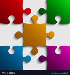 color puzzle clipart em eps vector [ 1000 x 1080 Pixel ]