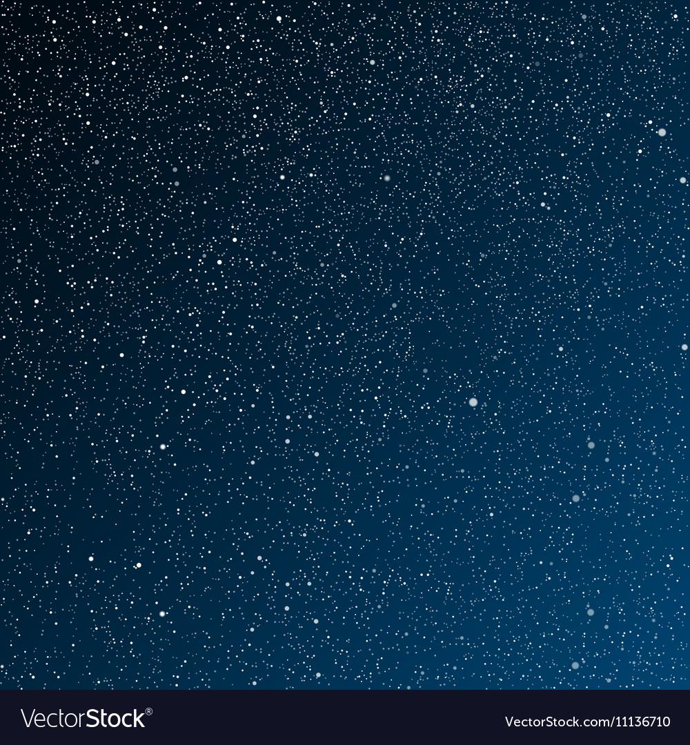 starry night dark bluesky