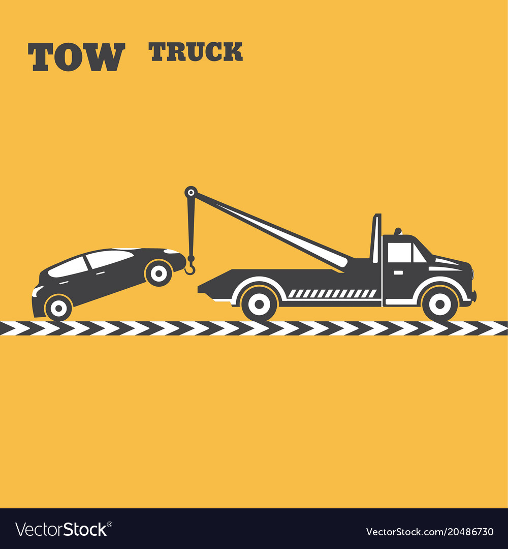 tow truck emblem