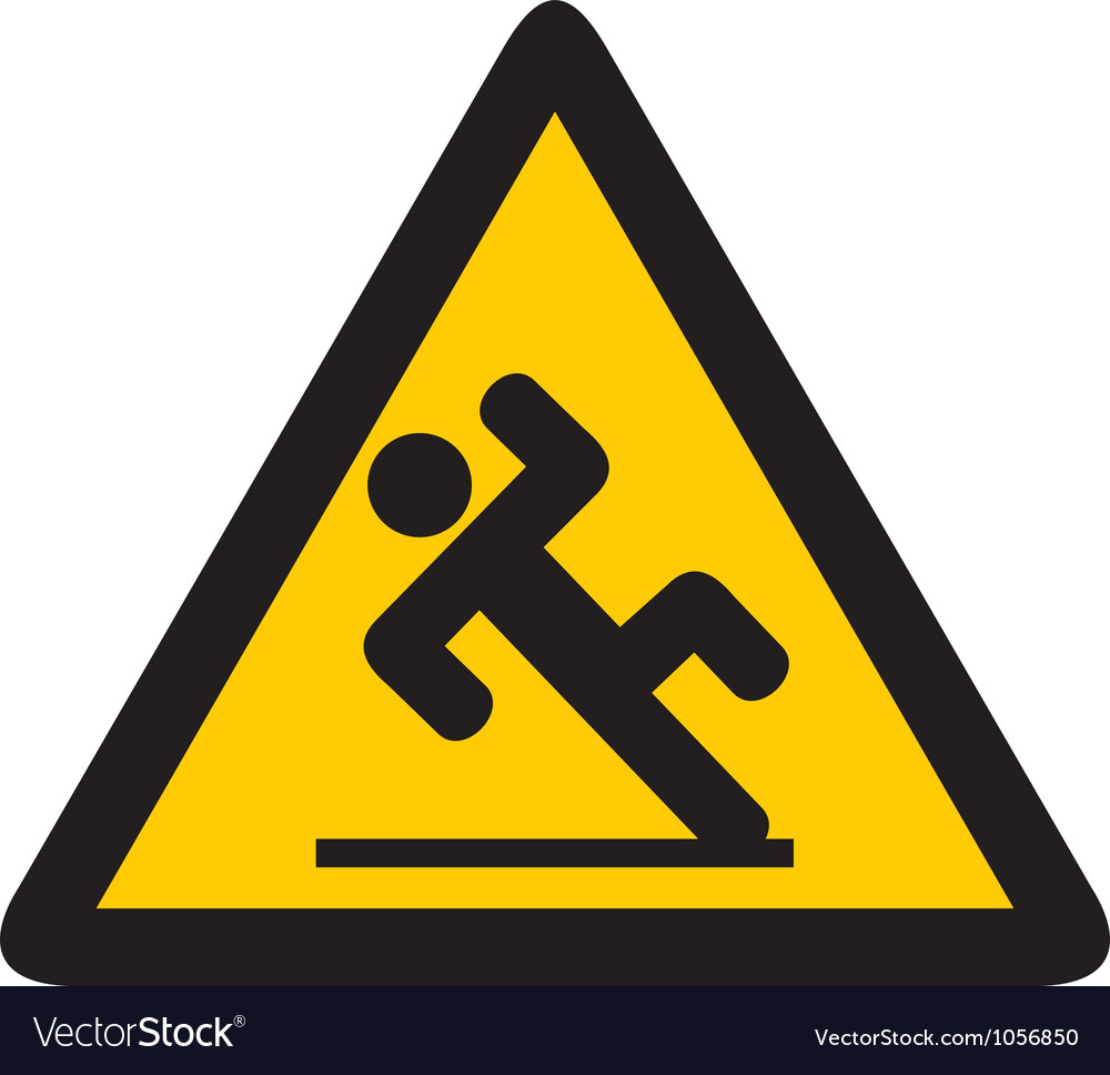 Slippery Floor Sign Vector  Carpet Vidalondon
