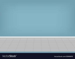 Empty Room Background Vector 3