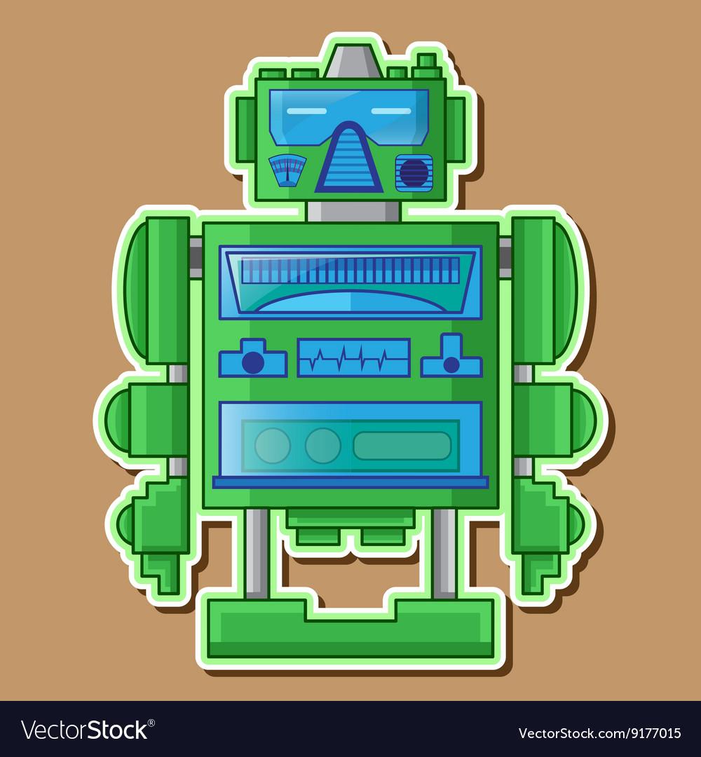 09 tin toy robot