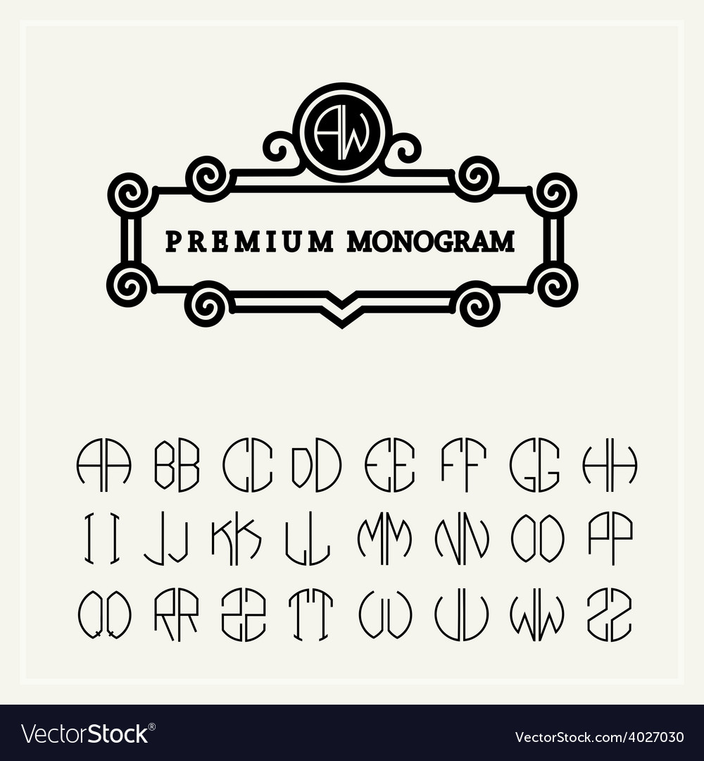 set template letters to