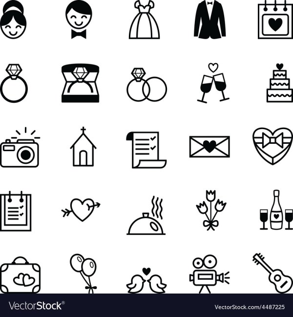 free wedding icons # 12